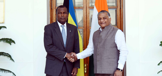 Description: ?Minister of State for External Affairs calls on ? Fredrick A Mitchell, Minister for Foreign Affairs of the Bahamas? in New Delhi?