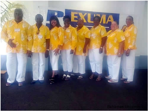 Exuma Conventions- Women's Branch of the PLP at the Exuma Convention