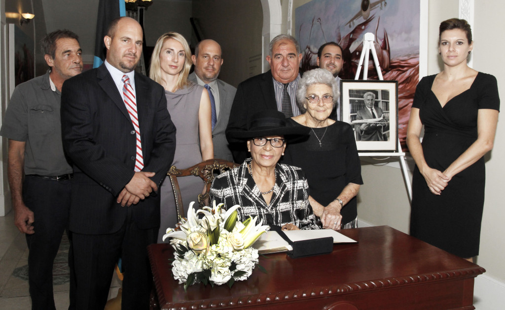 GG@Book Signing of Condolence for Sen Maillis Oct 10, <a href=