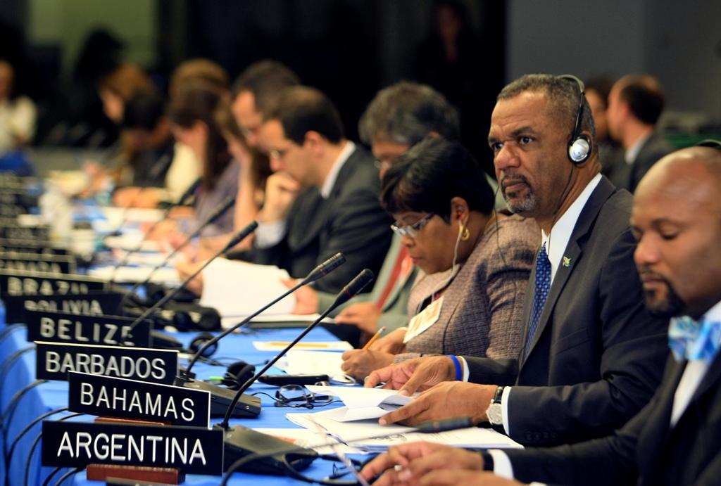 4 Minister speaking at roundtable on education OAS Washington